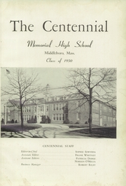 Page 5, 1950 Edition, Memorial High School - Orange Peal Yearbook (Middleborough, MA) online yearbook collection