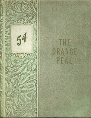 1954 Edition, Memorial High School - Orange Peal Yearbook (Middleborough, MA)