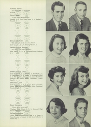 Page 17, 1954 Edition, Memorial High School - Orange Peal Yearbook (Middleborough, MA) online yearbook collection