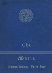 Page 1, 1949 Edition, Holy Family High School - Maria Yearbook (New Bedford, MA) online yearbook collection