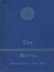 1951 Edition, Holy Family High School - Maria Yearbook (New Bedford, MA)