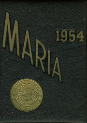 1954 Edition, Holy Family High School - Maria Yearbook (New Bedford, MA)