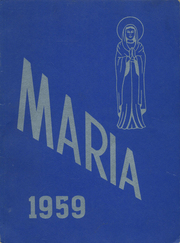 1959 Edition, Holy Family High School - Maria Yearbook (New Bedford, MA)