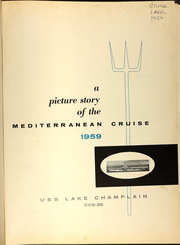 Page 5, 1959 Edition, Lake Champlain (CVS 39) - Naval Cruise Book online yearbook collection