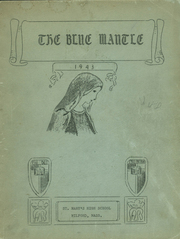Page 1, 1943 Edition, St Marys High School - Blue Mantle Yearbook (Milford, MA) online yearbook collection