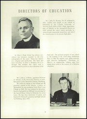 Page 26, 1950 Edition, St Marys High School - Blue Mantle Yearbook (Milford, MA) online yearbook collection