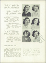 Page 35, 1950 Edition, St Marys High School - Blue Mantle Yearbook (Milford, MA) online yearbook collection