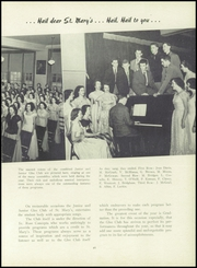 Page 69, 1950 Edition, St Marys High School - Blue Mantle Yearbook (Milford, MA) online yearbook collection