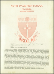 Page 5, 1957 Edition, Notre Dame High School - Crusader Yearbook (Fitchburg, MA) online yearbook collection