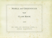 Page 5, 1932 Edition, Noble and Greenough School - Yearbook (Dedham, MA) online yearbook collection