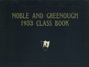 Noble and Greenough School - Yearbook (Dedham, MA) online yearbook collection, 1933 Edition, Page 1