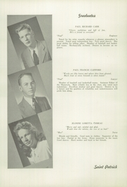 Page 16, 1947 Edition, St Patrick High School - Emerald Yearbook (Roxbury, MA) online yearbook collection