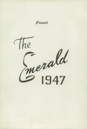 Page 7, 1947 Edition, St Patrick High School - Emerald Yearbook (Roxbury, MA) online yearbook collection