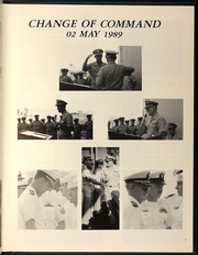 Page 11, 1989 Edition, Leftwich (DD 984) - Naval Cruise Book online yearbook collection