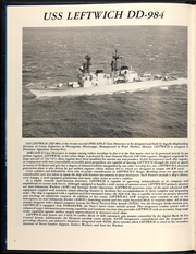 Page 6, 1989 Edition, Leftwich (DD 984) - Naval Cruise Book online yearbook collection