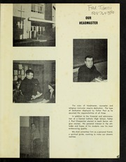 Page 3, 1969 Edition, Marianhill High School - Yearbook (Southbridge, MA) online yearbook collection