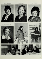 Page 11, 1984 Edition, Marianhill High School - Yearbook (Southbridge, MA) online yearbook collection