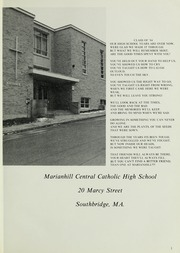 Page 5, 1984 Edition, Marianhill High School - Yearbook (Southbridge, MA) online yearbook collection
