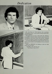 Page 7, 1984 Edition, Marianhill High School - Yearbook (Southbridge, MA) online yearbook collection