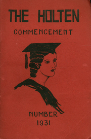 Page 1, 1931 Edition, Holten High School - Yearbook (Danvers, MA) online yearbook collection