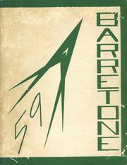 1959 Edition, Barre High School - Barretone Yearbook (Barre, MA)