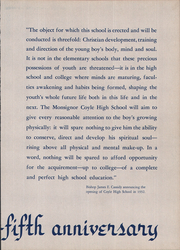 Page 3, 1958 Edition, Monsignor Coyle High School - Review Yearbook (Taunton, MA) online yearbook collection