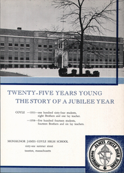 Page 7, 1958 Edition, Monsignor Coyle High School - Review Yearbook (Taunton, MA) online yearbook collection