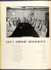 Page 14, 1953 Edition, Leyte (CVA 32) - Naval Cruise Book online yearbook collection