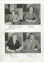 Page 10, 1959 Edition, Warren High School - Hilltop Yearbook (Warren, MA) online yearbook collection