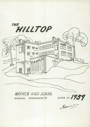 Page 5, 1959 Edition, Warren High School - Hilltop Yearbook (Warren, MA) online yearbook collection