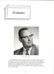 Page 7, 1965 Edition, Warren High School - Hilltop Yearbook (Warren, MA) online yearbook collection