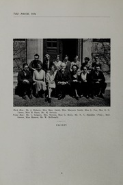 Page 10, 1934 Edition, Punchard High School - Prism Yearbook (Andover, MA) online yearbook collection