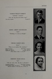 Page 15, 1934 Edition, Punchard High School - Prism Yearbook (Andover, MA) online yearbook collection