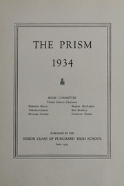 Page 7, 1934 Edition, Punchard High School - Prism Yearbook (Andover, MA) online yearbook collection
