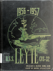 Page 1, 1957 Edition, Leyte (CVS 32) - Naval Cruise Book online yearbook collection