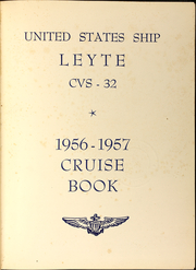 Page 5, 1957 Edition, Leyte (CVS 32) - Naval Cruise Book online yearbook collection