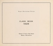 Page 5, 1928 Edition, Searles High School - Yearbook (Methuen, MA) online yearbook collection