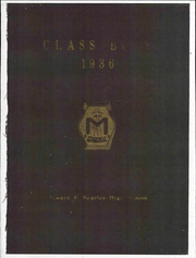 Page 1, 1936 Edition, Searles High School - Yearbook (Methuen, MA) online yearbook collection