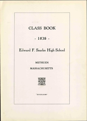 Page 9, 1936 Edition, Searles High School - Yearbook (Methuen, MA) online yearbook collection