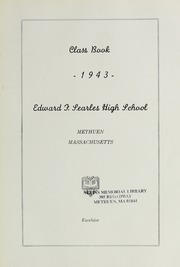 Page 9, 1943 Edition, Searles High School - Yearbook (Methuen, MA) online yearbook collection