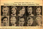Page 11, 1934 Edition, Orange High School - Key Yearbook (Orange, MA) online yearbook collection