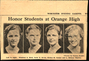 Page 15, 1934 Edition, Orange High School - Key Yearbook (Orange, MA) online yearbook collection