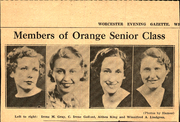 Page 17, 1934 Edition, Orange High School - Key Yearbook (Orange, MA) online yearbook collection