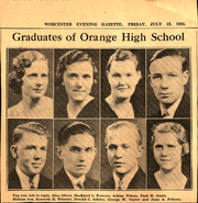Page 3, 1934 Edition, Orange High School - Key Yearbook (Orange, MA) online yearbook collection