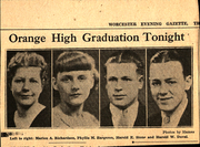 Page 7, 1934 Edition, Orange High School - Key Yearbook (Orange, MA) online yearbook collection