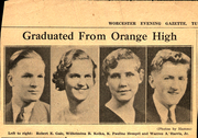 Page 9, 1934 Edition, Orange High School - Key Yearbook (Orange, MA) online yearbook collection