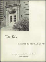 Page 4, 1942 Edition, Orange High School - Key Yearbook (Orange, MA) online yearbook collection