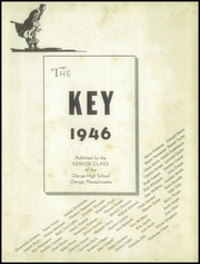 Page 5, 1946 Edition, Orange High School - Key Yearbook (Orange, MA) online yearbook collection