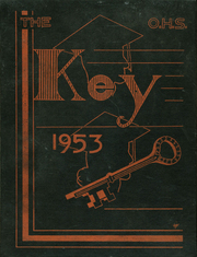Page 1, 1953 Edition, Orange High School - Key Yearbook (Orange, MA) online yearbook collection