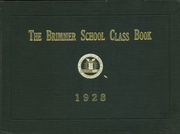 1928 Edition, Brimmer and May School - Yearbook (Chestnut Hill, MA)